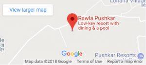 Rawla Pushkar Resort India